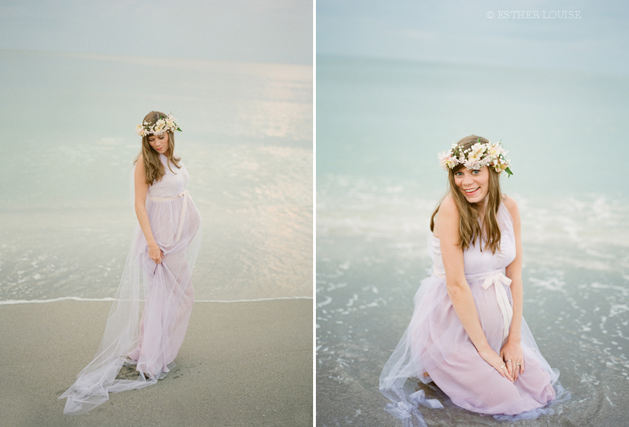 Maternity Beach Outfit