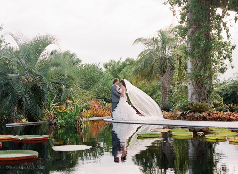 Naples botanical gardens wedding » Esther Louise Photography