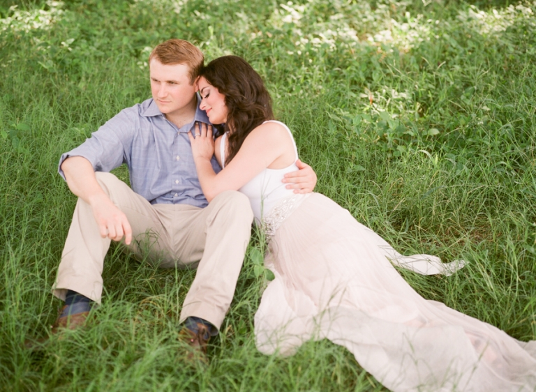 esther louise photography romantic florida ranch engagement session